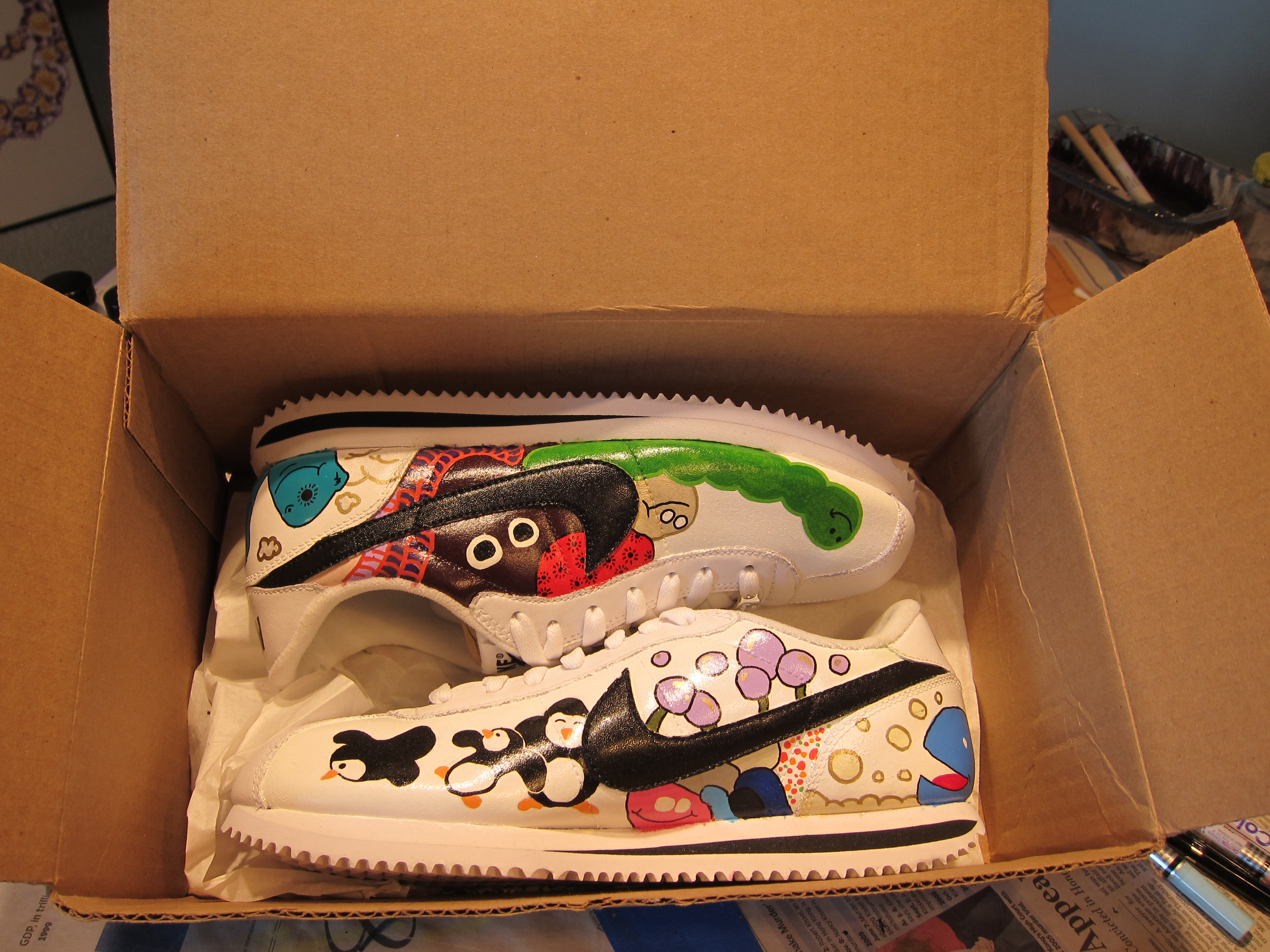 Fresh out of the box sneakers!