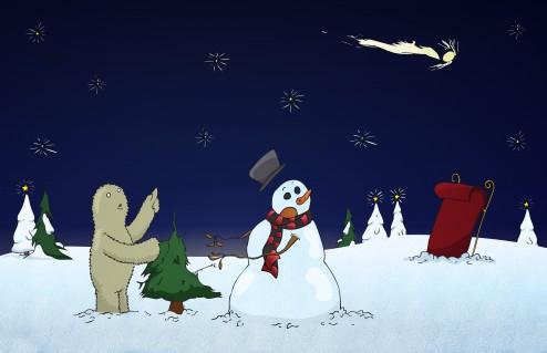 Holiday Card 2010 - Scene 1