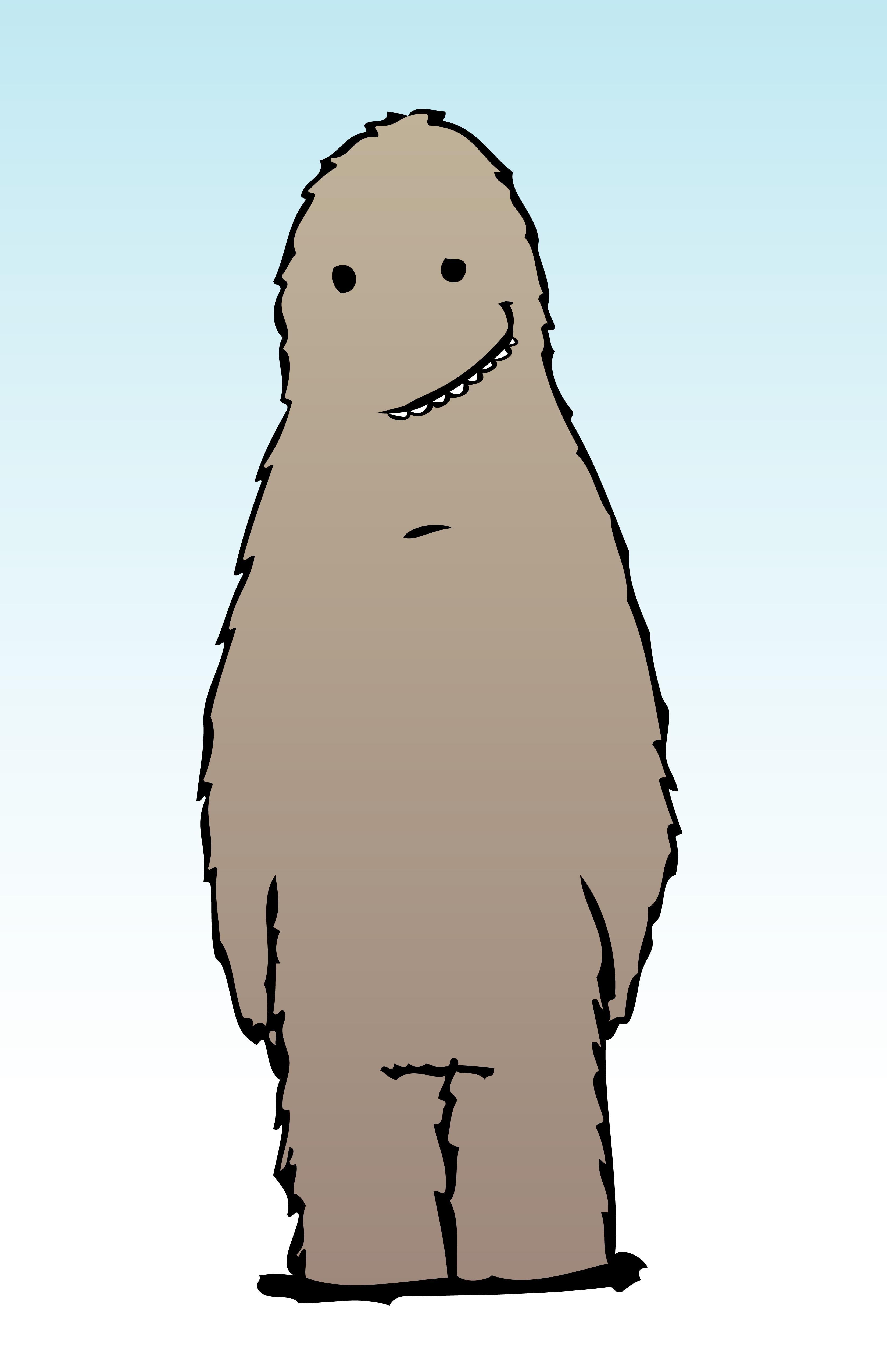 Bigfoot Standing