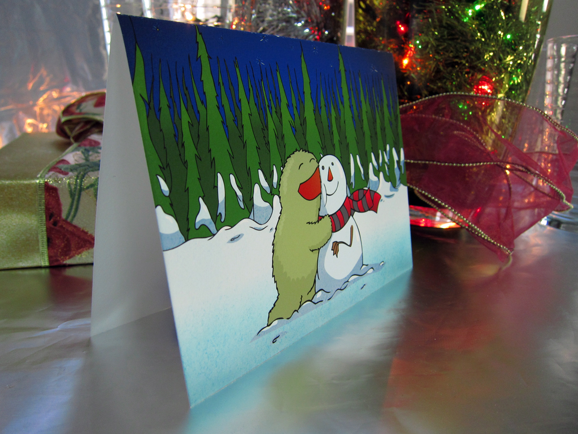 Holiday Cards 2011 - Card on an angle